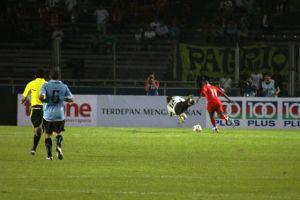 Ilustrasi/Detiksport: Boaz Membuat Gol ke gawang La Celeste!